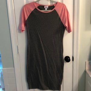 LulaRoe short sleeve dress, size M